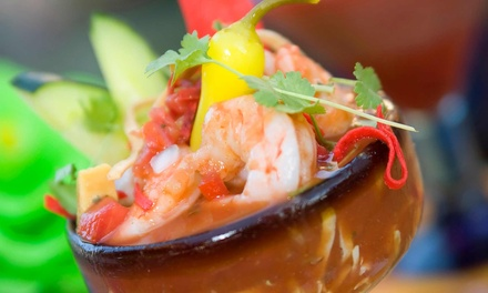Mexican Seafood Cuisine at La Pesca (Up to 50% Off). Four Options Available.