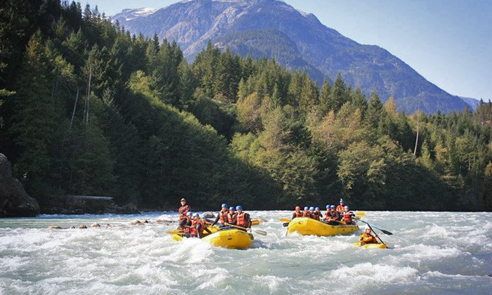 Canadian Outback Adventures & Events - Executive Suites Hotel and Resort: Wet & Wild Elaho Whitewater Rafting Trip for One, Two, or Four (Up to 52% Off)