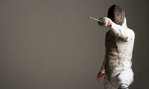 Dunwoody Fencing Club: Four or Eight One-on-One Fencing Classes for One or Two at Dunwoody Fencing Club (Up to 54% Off)