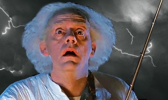 """Christopher Lloyd Goes Back to the Future - Riverside Theater: Christopher Lloyd Goes """"Back to the Future"""" –Film Screening and Q&A on Saturday, February 20, at 7 p.m."""