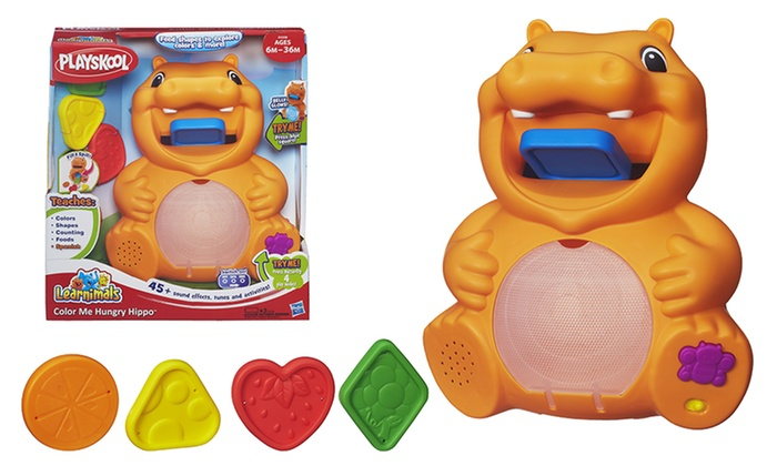 PlaySkool Learnimals Color Me Hungry Hippo: PlaySkool Learnimals Color Me Hungry Hippo. Free Returns.
