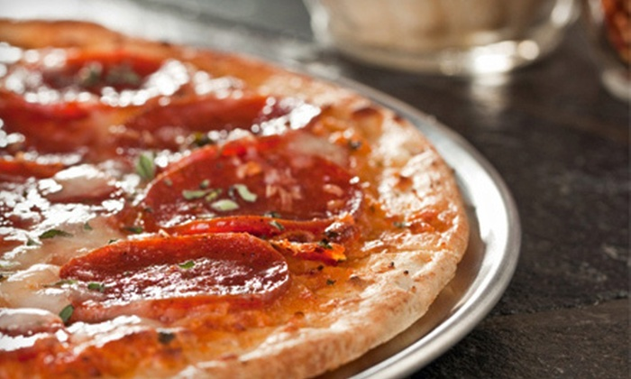 Market Street Pizza - Waterstone: Pizza Meal for Two or Four with Salads and Soft Drinks at Market Street Pizza (Up to 55% Off)