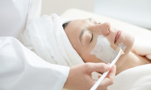 Golden Looks Ladies Beauty Centre: Choice of Facial with an Optional Full-Face Threading and Hair Treatment at Golden Looks Ladies Beauty Centre