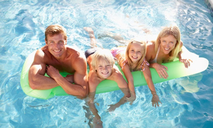 Pleasant Hill Recreation & Park District - Pleasant Hill: One-Day Family Pool Pass for Family of Four or Six at Pleasant Hill Recreation & Park District (Up to 57% Off)