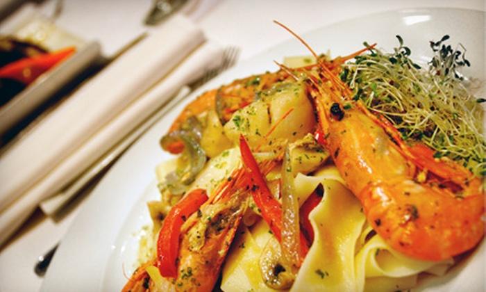 La Risata Ristorante - North York Industiral: Three-Course Italian Dinner for Two or Four Tuesday–Thursday or Friday–Saturday at La Risata Ristorante (Up to 53% Off)