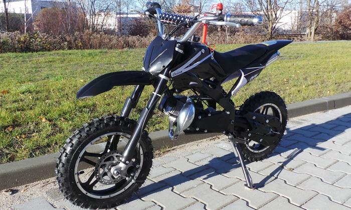 Groupon Goods Global GmbH: Sportliches 49 cc Dirt Bike Enduro mit 10 Zoll Reifen (44% sparen*)