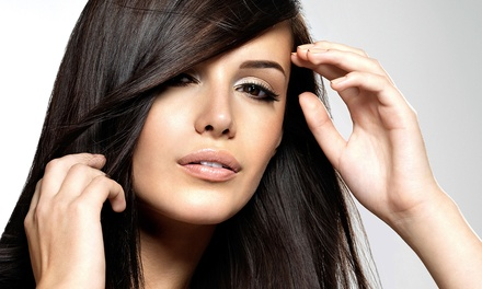 Cut with Conditioning, Blowout & Optional Highlights or Touchup at Extension Dreams Salon & Spa (Up to 68% Off)