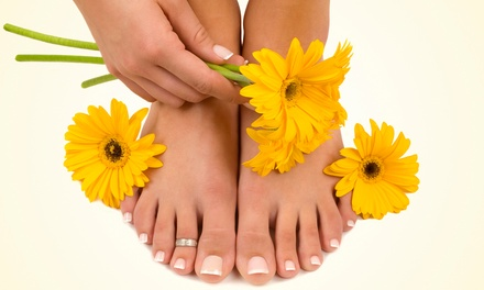$29 for Lemon Dream Pedicure with Hot-Stone Massage Therapy at Salon Genesis ($50 Value)