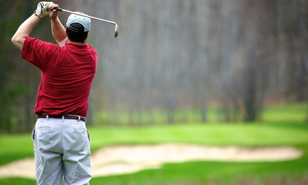 Round of Golf with Cart Rental for Four and Range Balls at Bluff Creek Golf Course (Up to 49% Off)