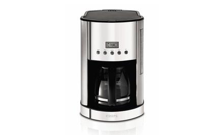 Krups Programmable Coffee Maker Groupon