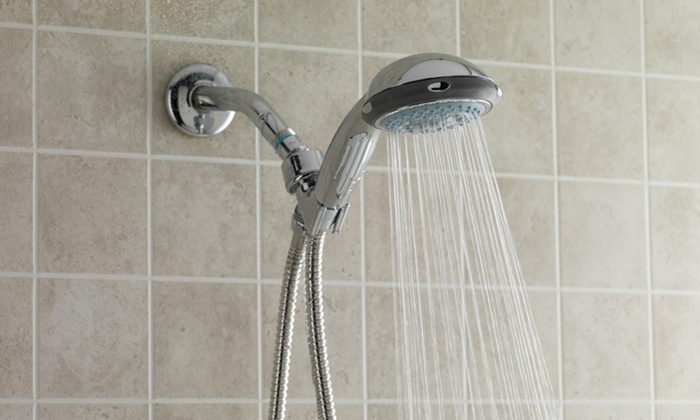 4-Function Shower Head Set | Groupon Goods