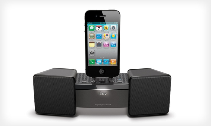 iLuv High-Fidelity Apple Speaker Dock: $39 for an iLuv Acclamation High-Fidelity Speaker Dock for iPod/iPhone ($69.99 List Price). Free Shipping and Returns.