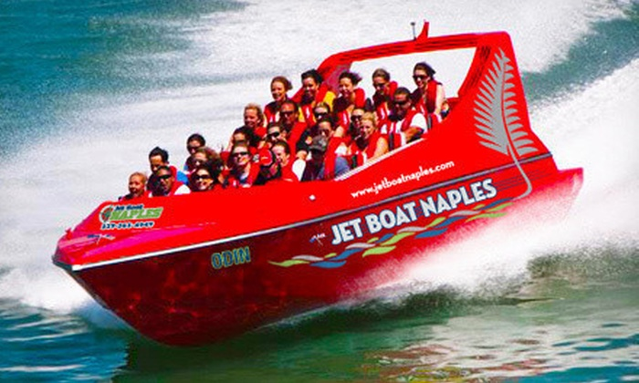 Cruise Naples - Old Naples: $24 for a One-Hour Jet-Boat Eco Tour from Cruise Naples ($49 Value)