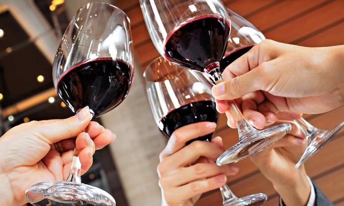 Wine World - Located across from the Silver Sands Outlet Mall: Lunch and Wine for Two or Four at Wine World (Up to 50% Off)