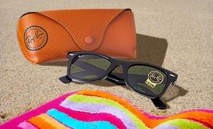 ray ban new wayfarer review b06c  One Pair of Ray-Ban New Wayfarer Black Rubber Sunglasses