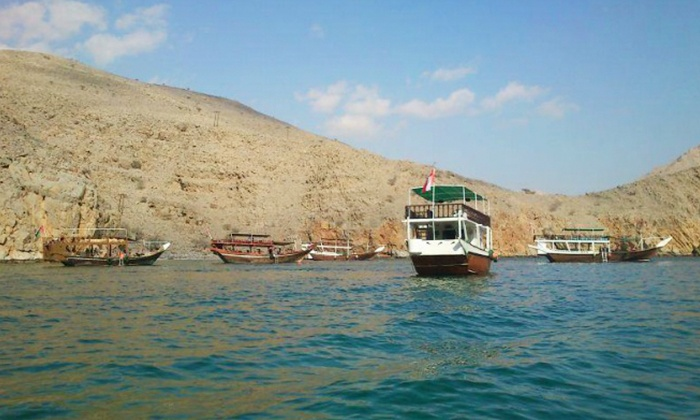 Musandam Sands Tour - Dibba: [Up 67% off] Musandam Day Tour on a Traditional Dhow starting from AED 99