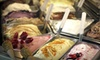 Cafe Bella Rue - Daybreak: Pizza Meal for Two or $5 for $10 Worth of Panini, Salads, and Gelato at Café Bella Rue