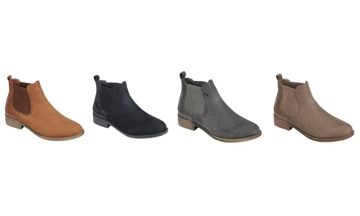 5778af825c8c2 Mata Low Heel Casual Women's Ankle Boots | Groupon