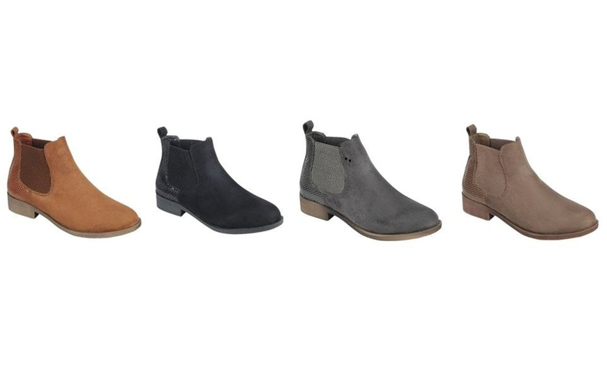 Autumn Women/'s Booties Low Heels Ankle Boots Round Toe Zip Up Casual Shoes5-12