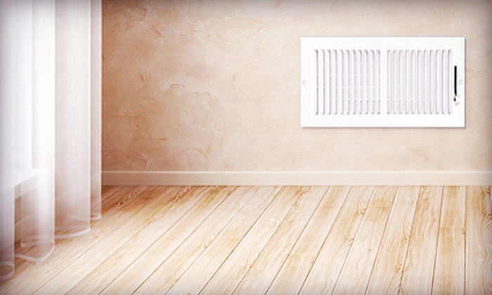 V Clean - Baltimore: Air-Duct Cleaning for 7 or 12 Vents with System Check from V Clean (Up to 75% Off)