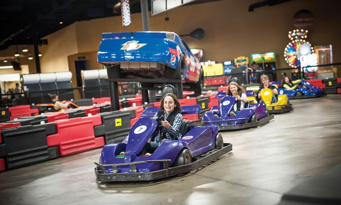 THE WEB Extreme Entertainment - West Chester : Family-Fun Package for Four or Eight at THE WEB Extreme Entertainment (Up to 59% Off)