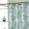 Bradley Fabric Shower Curtain with Resin Hooks