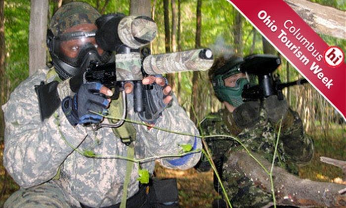 SplatterPark - Columbus: Paintball Outing with Gear and Lunch for Two at SplatterPark in Mount Gilead (52% Off)