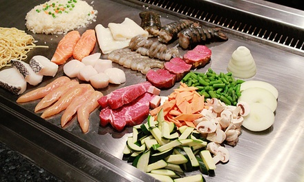 $20 for $40 Worth of Japanese Cuisine at Hokkaido Sushi Hibachi Steak House & Lounge