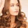 Haarschnitt mit Wäsche und Föhnen