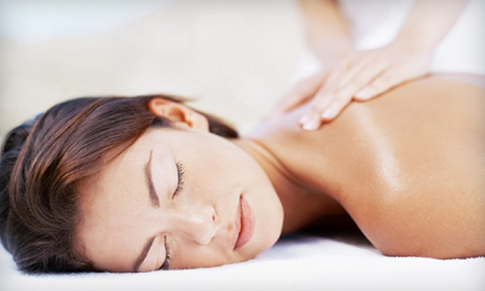 Pileggi on the Square - Center City East: One, Two, or Three Swedish or Hot-Stone Massages or One or Two Mani-Pedis at Pileggi on the Square (Up to 73% Off)