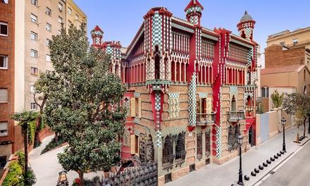Visita general o guiada para 1 niño o adulto a la Casa Vicens Gaudí (20% de descuento)