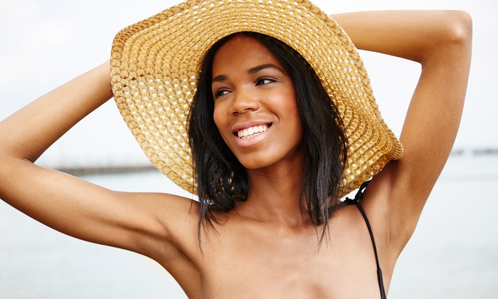 BlueInGreen Center - Georgetown: Three or Six Laser Hair-Removal Sessions for Small, Medium, or Large Area at BlueInGreen Center (Up to 79% Off)