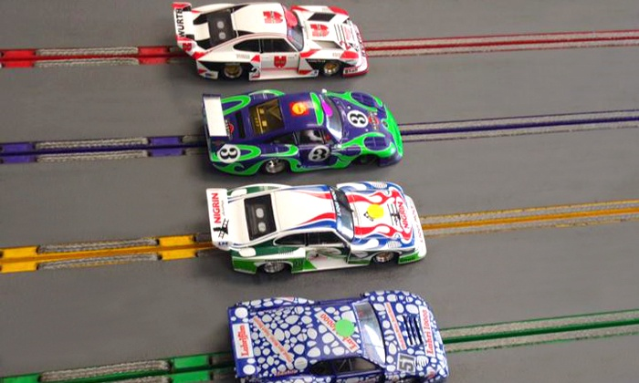 Phase II Slot Car Racing - Pasadena: 30 Minutes of Slot-Car Racing or $25 for $50 Worth of Track Time and Rentals at Phase II Slot Car Racing