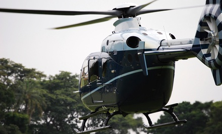 $179 for 60-Minute Private Helicopter Flight Lesson from New York Flight Academy ($310 Value)