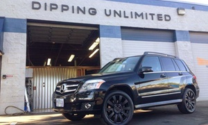 Dipping Unlimited: $10 Buys You a Coupon for 10% Off Up to $500 Worth of Plastic Dipping Services at Dipping Unlimited