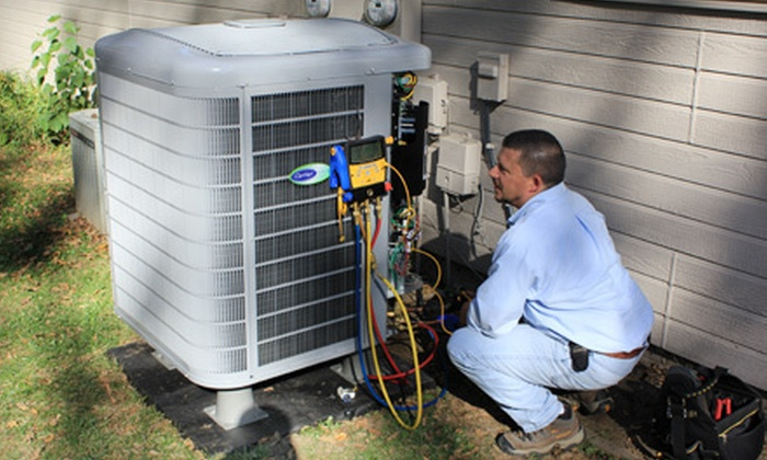 Green Tree Heating & Air Conditioning - Millard: $35 for an Air-Conditioner Tune-Up and Cleaning from Green Tree Heating & Air Conditioning ($89 Value)