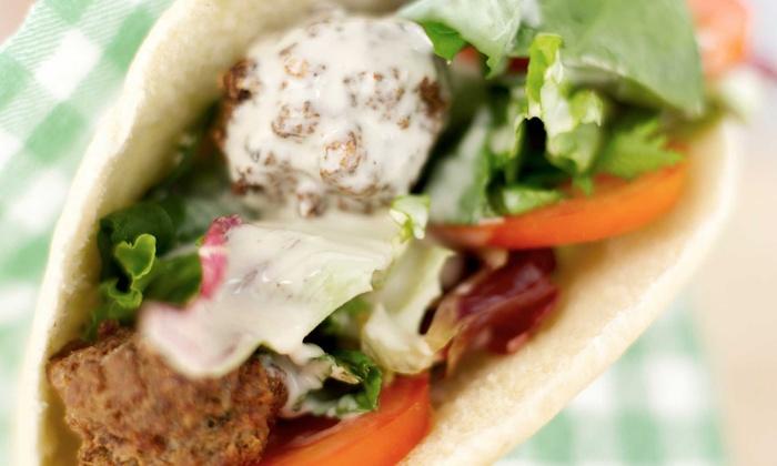 Haifa Falafel - Carpenter East: $11 for $20 Worth of Mediterranean Cuisine at Haifa Falafel (45% Off)