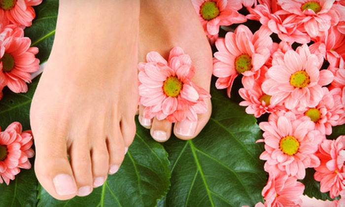 Modern Nails - Ballston Common Mall: $29 for an Organic Pedicure at Modern Nails ($60 Value)