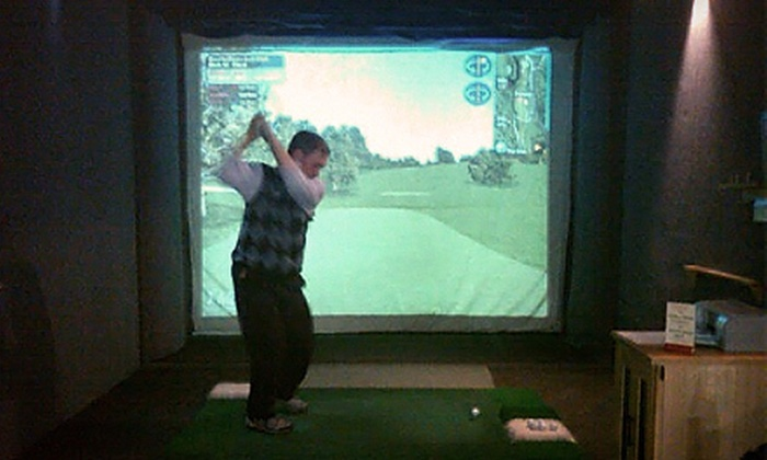 Fore Season Indoor Golf - North Deering: $13 for One Hour of Weekday Golf-Simulator Play at Fore Season Indoor Golf (Up to $27 Value)