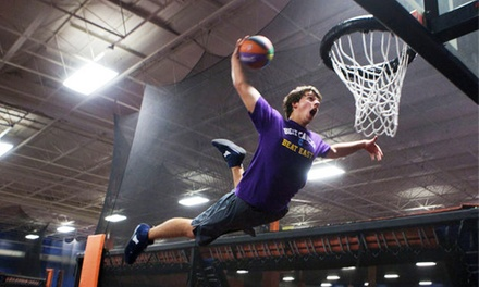 One-Hour of Open-Jump Time with Socks for Two or Four People at Sky Zone (43% Off)