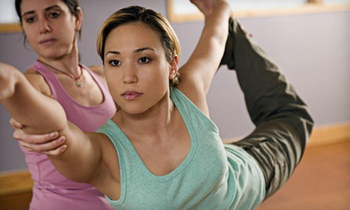 YOUnique Yoga - Multiple Locations: 10 or 15 Hot-Vinyasa-Yoga Classes at YOUnique Yoga (Up to 77% Off)