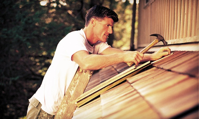 Columbia Exteriors - Cincinnati: 2 or 4 Hours of Repair and Maintenance Services on Roofs, Siding, and Windows from Columbia Exteriors (Up to 65% Off)