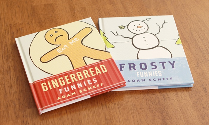 Gingerbread Funnies and Frosty Funnies 2-Book Set: Gingerbread Funnies and Frosty Funnies 2-Book Set