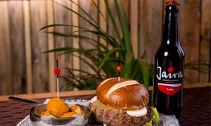 Cervecería Barley Wine: Menú para dos con entrante, principal, postre o café, bebida y opción a cerveza artesanal desde 16,95 € en Barley Wine
