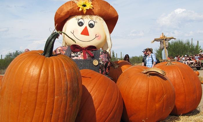 Macdonald Ranch Pumpkin Patch - Scottsdale: Admission for Two or Four at Macdonald Ranch Pumpkin Patch (Up to 35% Off Off). Four Options Available.