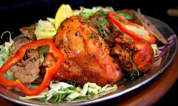 North India Bar & Grill - Clovis: Indian Cuisine at North India Bar & Grill (Half Off). Two Options Available.