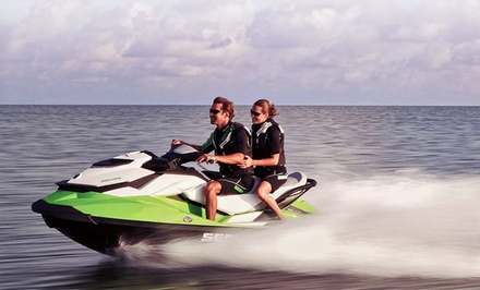 One- or Two-Hour Jet Ski Rental at Makaio Watersports (Up to 72% Off)