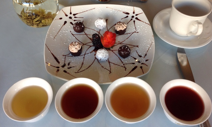 Chado Tea Room - Multiple Locations: Chocolate and Tea Tasting for Two or Four at Chado Tea Room (Up to 42% Off)