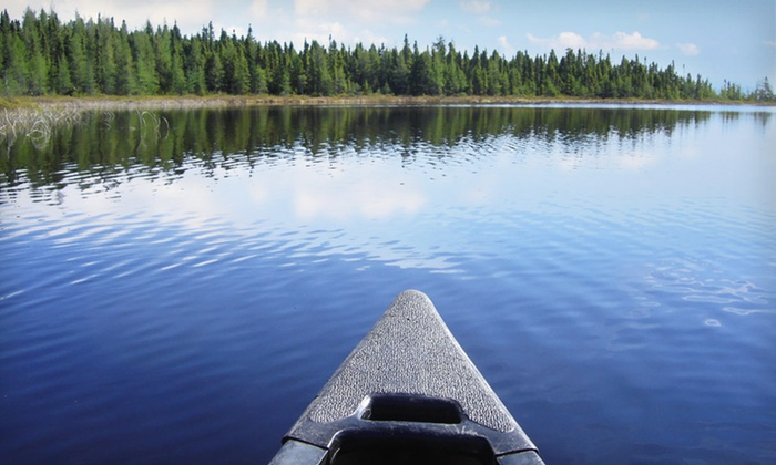Outfitted Canoe Trips with Lodging from Gunflint Northwoods Outfitters - Grand Marais,MN: Four-, Six-, or Seven-Night Outfitted Canoe Trip with Lodging at Gunflint Northwoods Outfitters in Minnesota Northwoods