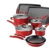 Rachael Ray Porcelain II Nonstick 12-Piece Cookware Set